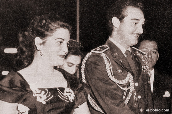 Lieutenant General Ramfis Trujillo and wife, Octavia Ricart by Otto Piron}