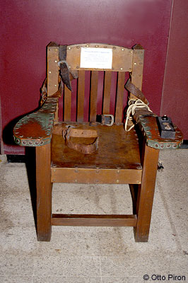 Electric Chair by Otto Piron}